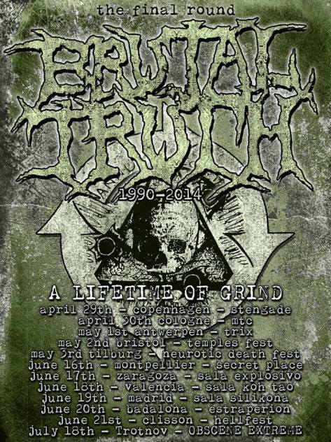 brutal truth EU tour